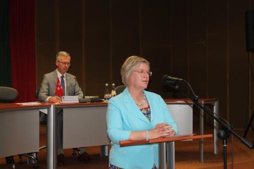 Tarybos posėdyje priimtas sprendimas dėl administracijos direktorės ir pavaduotojo
