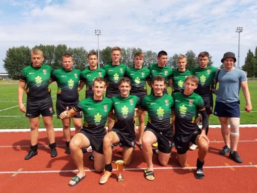 Lietuvos jaunimo mažojo regbio rinktinė stos į kovą su stipriausiomis Europos komandomis