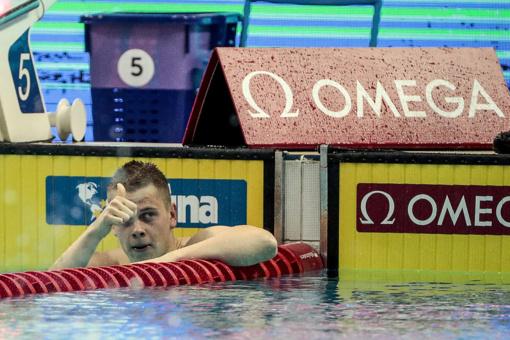 Plaukikai D. Rapšys ir A. Šidlauskas Singapūre sieks antrųjų medalių