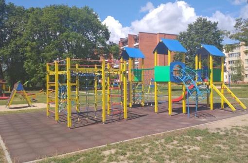 Tikslinamas ikimokyklinio ugdymo įstaigų teritorijose esančių vaikų žaidimų aikštelių lankymo laikas