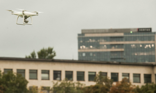VSAT primena: naudoti dronus virš Ignalinos AE ir aplink ją - draudžiama