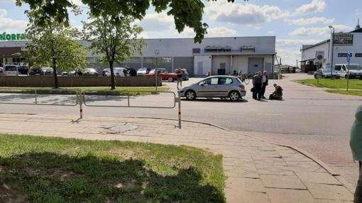 Panevėžyje automobilis mirtinai sužalojo moterį