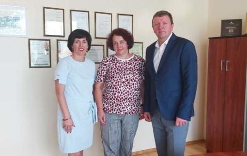 """Apsilankyta įmonėje UAB """"Joniškio grūdai"""": Joniškyje yra pakankamai geros sąlygos verslui plėtoti"""