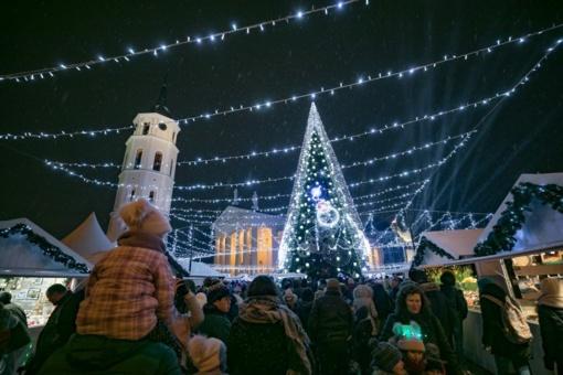 Vilnius Kalėdoms nori pritraukti daugiau vokiečių turistų