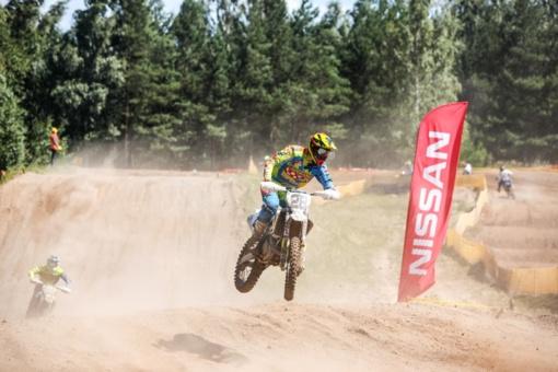 Po motociklų kroso etapo Panevėžyje – nauji Lietuvos čempionato lyderiai