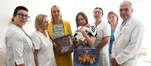 Trakų ligoninėje gimė 200-asis kūdikis