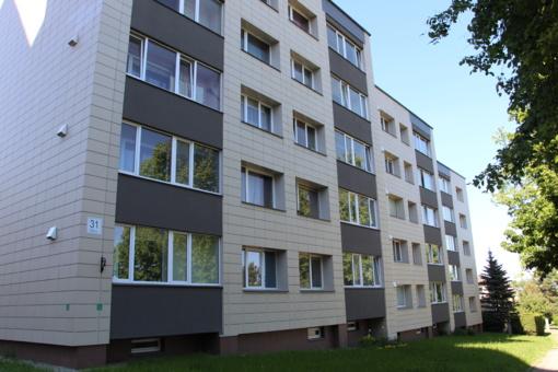 Gyventojai kviečiami teikti paraiškas daugiabučiams namams atnaujinti (modernizuoti)