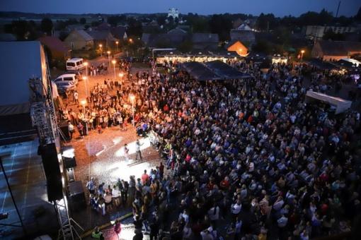 Penkioliktajame Kražių festivalyje – žymiausi atlikėjai ir klausytojai iš visos Lietuvos