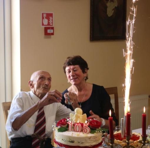 Ilgaamžis Joniškio rajono gyventojas mini garbingą 105-erių metų sukaktį