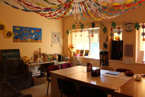 Grūžių globos namų vaikai su specialistais diskutavo apie savo teises