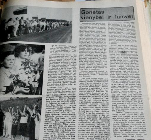 Koks buvo 1989 – ųjų rugpjūtis?