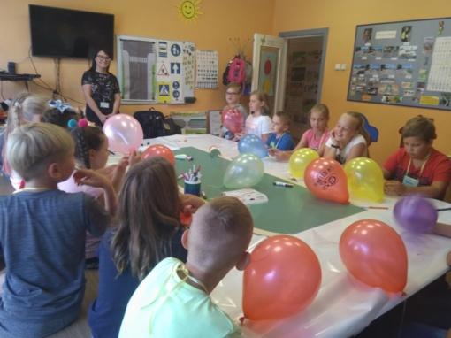 Vaiko teisių gynėjų apsilankymas vasaros stovykloje praturtino vaikus žiniomis apie jų teises ir pareigas