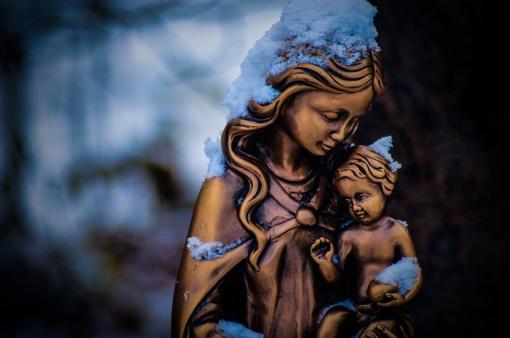 Iš koplyčios pavogta šv. Mergelės Marijos skulptūra