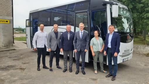 """""""Kaišiadorių paslaugos"""" įsigijo dar vieną naują autobusą"""