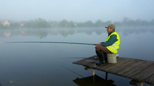 Žvejai varžėsi saugiai