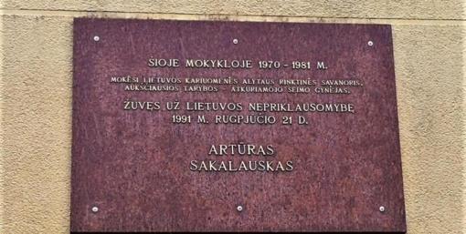 Prisimenamas alytiškis savanoris A. Sakalauskas