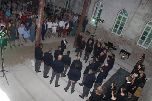 """Vyrų choro ,,Monte Dolada"""" viešnagė Lietuvoje"""
