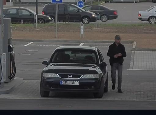 Kauno policijos pareigūnai prašo pagalbos, nustatant šio asmens tapatybę