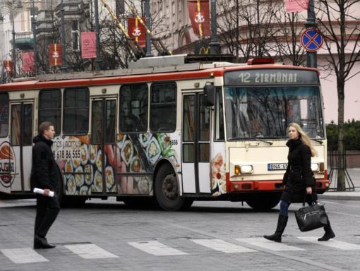 Vilnius švęs kovo 11-ąją: viešasis transportas veš nemokamai