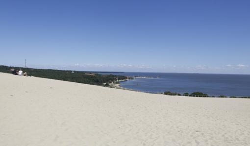 Kuršių Nerijos paplūdimiuose vanduo – švarus, Smiltynėje dar negalima maudytis