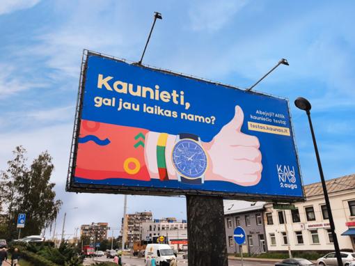 Kaunas ragina sugrįžti miestą palikusius kauniečius, nusitaikė į Vilnių