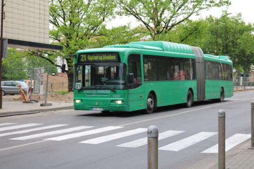 """Prailgintas autobusų maršrutų darbo laikas """"Šiaulių naktų"""" metu"""