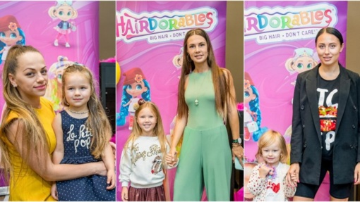 Žinomos mamos ir dukros įvertino pasaulį sužavėjusias spalvingąsias lėles