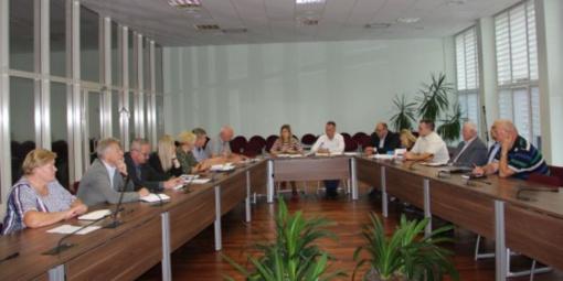 Pasitarime aptarti atliekų, nuotekų tvarkymo klausimai