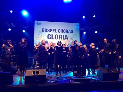"""Gospelo choro """"Gloria"""" koncertas– Šv. Ignaco Lojolos bažnyčioje"""