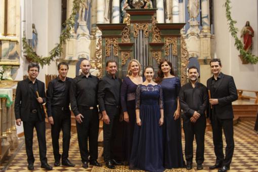 Kretingos senosios muzikos festivalis ties simbolinį kelią per Baltijos šalis