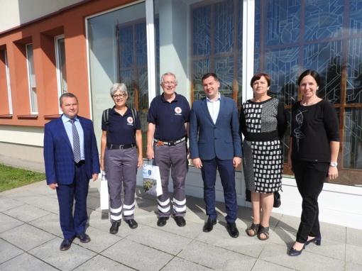 Bendradarbiavimas su Vokietijos Raudonuoju Kryžiumi bus tęsiamas