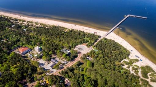 Prokuratūra aiškinsis, ar prie pat jūros Palangoje iškilęs statinys yra teisėtas