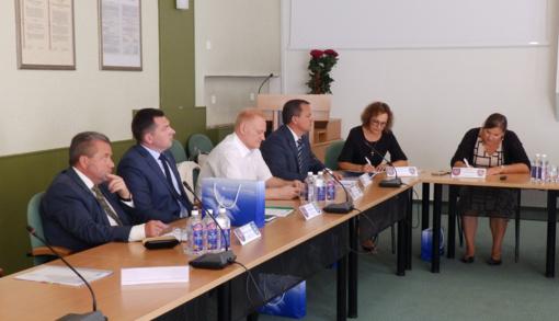 Molėtuose įvyko Utenos regiono plėtros tarybos posėdis
