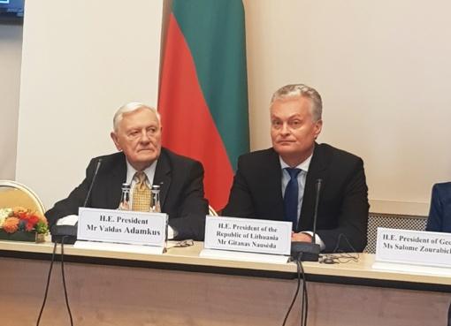 Baltijos keliui dedikuota Valdo Adamkaus konferencija