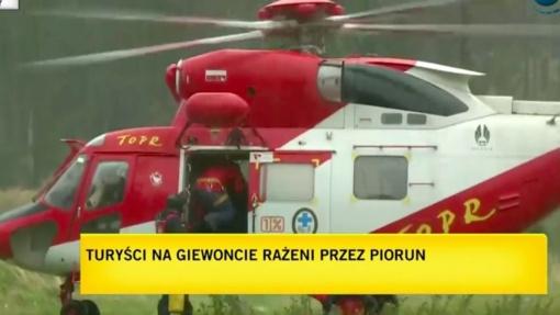 Lenkijoje trenkus žaibui sužeista per dvi dešimtis žmonių, yra žuvusių (papildyta)