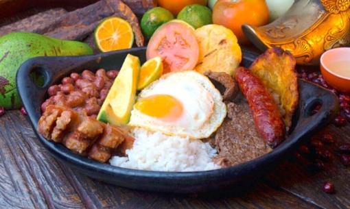 Egzotiškosios Kolumbijos virtuvė