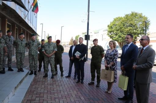 Oficialiai atidarytos Alytaus regiono karo prievolės ir komplektavimo skyriaus naujos patalpos