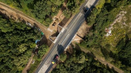 Baigtas svarbus Kauno Pietrytinio aplinkkelio etapas: atidarytas Ateities plentas