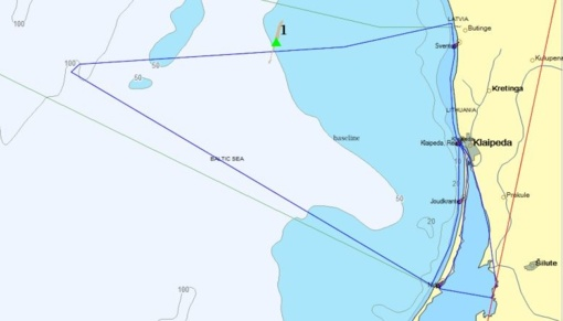 Baltijos jūroje vėl užfiksuota tarša naftos produktais