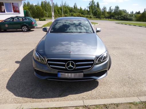 Vokietijoje pavogtas automobilis tą pačią dieną sulaikytas Lietuvoje