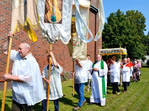 Šv. Roko – stebuklingojo ligonių globėjo – atlaidai Pagėgiuose