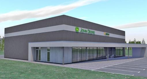 Varkaliuose planuojama statyti žemės ūkio technikos parduotuvę ir servisą