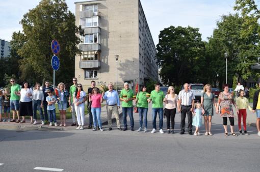 Gargžduose paminėtas Baltijos kelio 30-ies metų jubiliejus