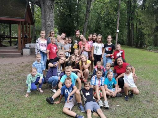 Vasaros užimtumo stovykla Kruopių seniūnijos vaikams ir jaunimui