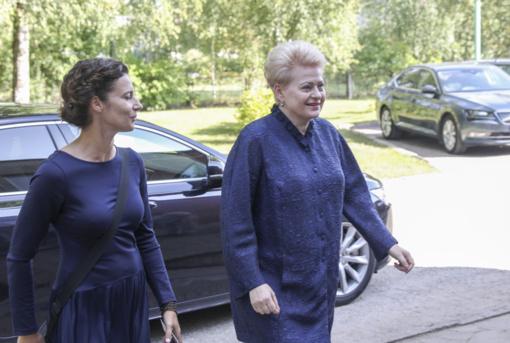 D. Grybauskaitė įvertino pirmuosius G. Nausėdos prezidentavimo mėnesius