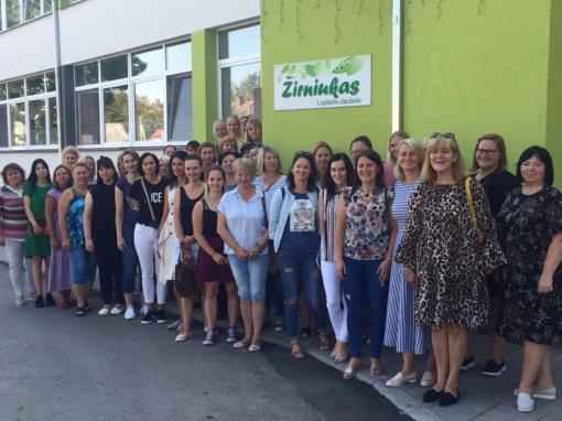 Gerosios patirties sklaida pedagogams iš Latvijos