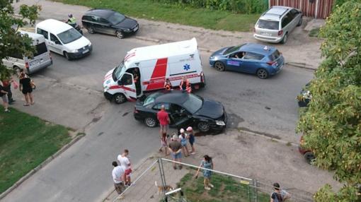 Eismo įvykyje Panevėžyje sužeistas kūdikis