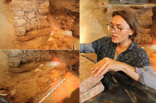 Archeologai Rokiškio bažnyčioje aptiko senus pamatus: spėjama – pirmųjų dviejų šventovių