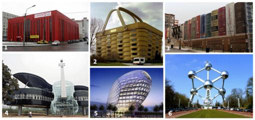 Įdomusis pasaulis: kokių tik nebūna pastatų…