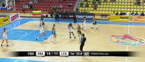 Lietuvos 16-metės krepšininkės iškopė į Europos čempionato finalą